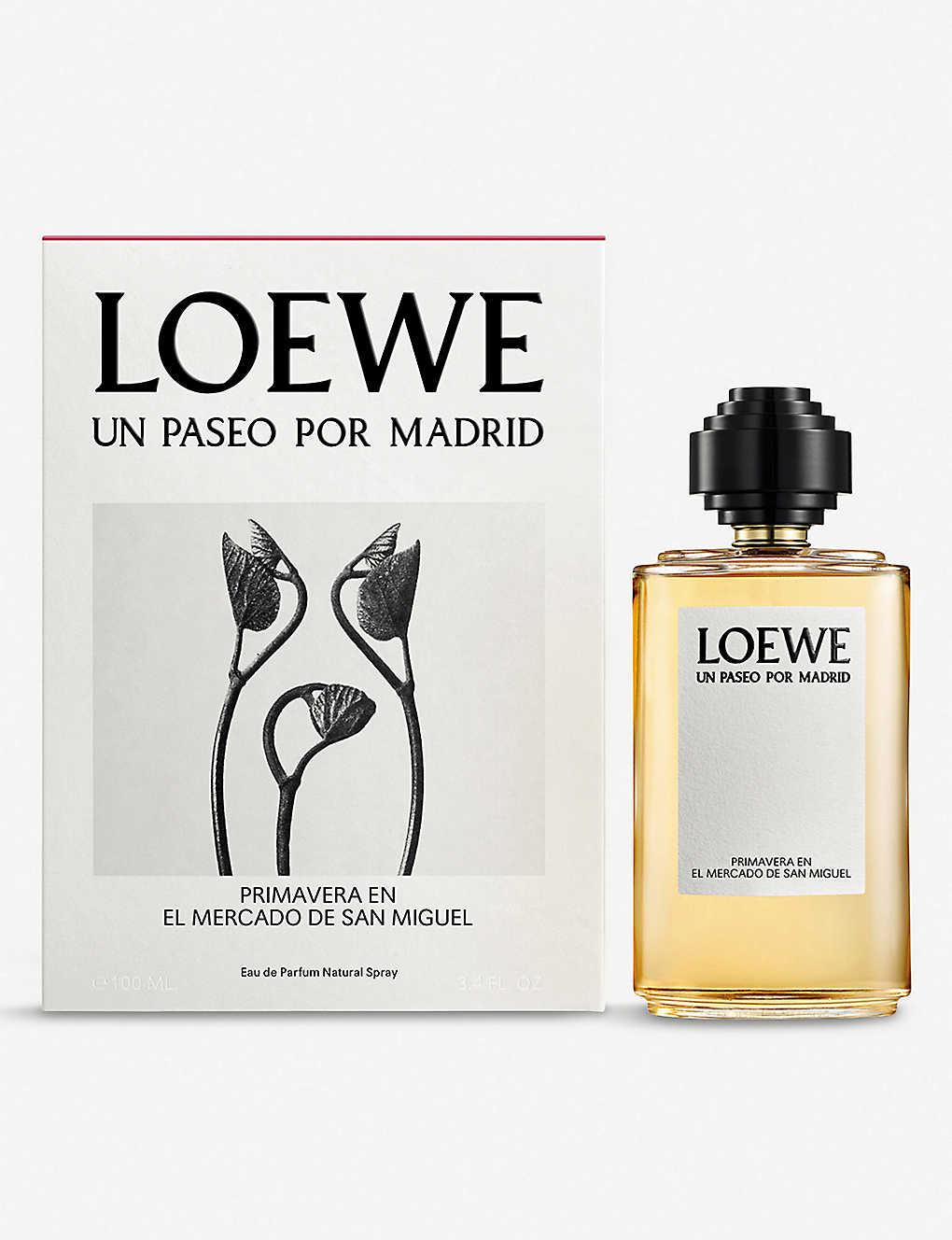 Loewe Primavera En El Mercado De San Miguel Eau De Parfum 100ml