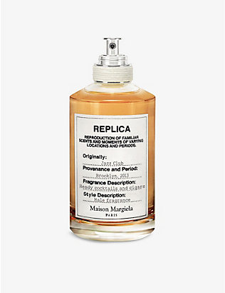 MAISON MARGIELA: Replica Jazz Club eau de toilette 100ml