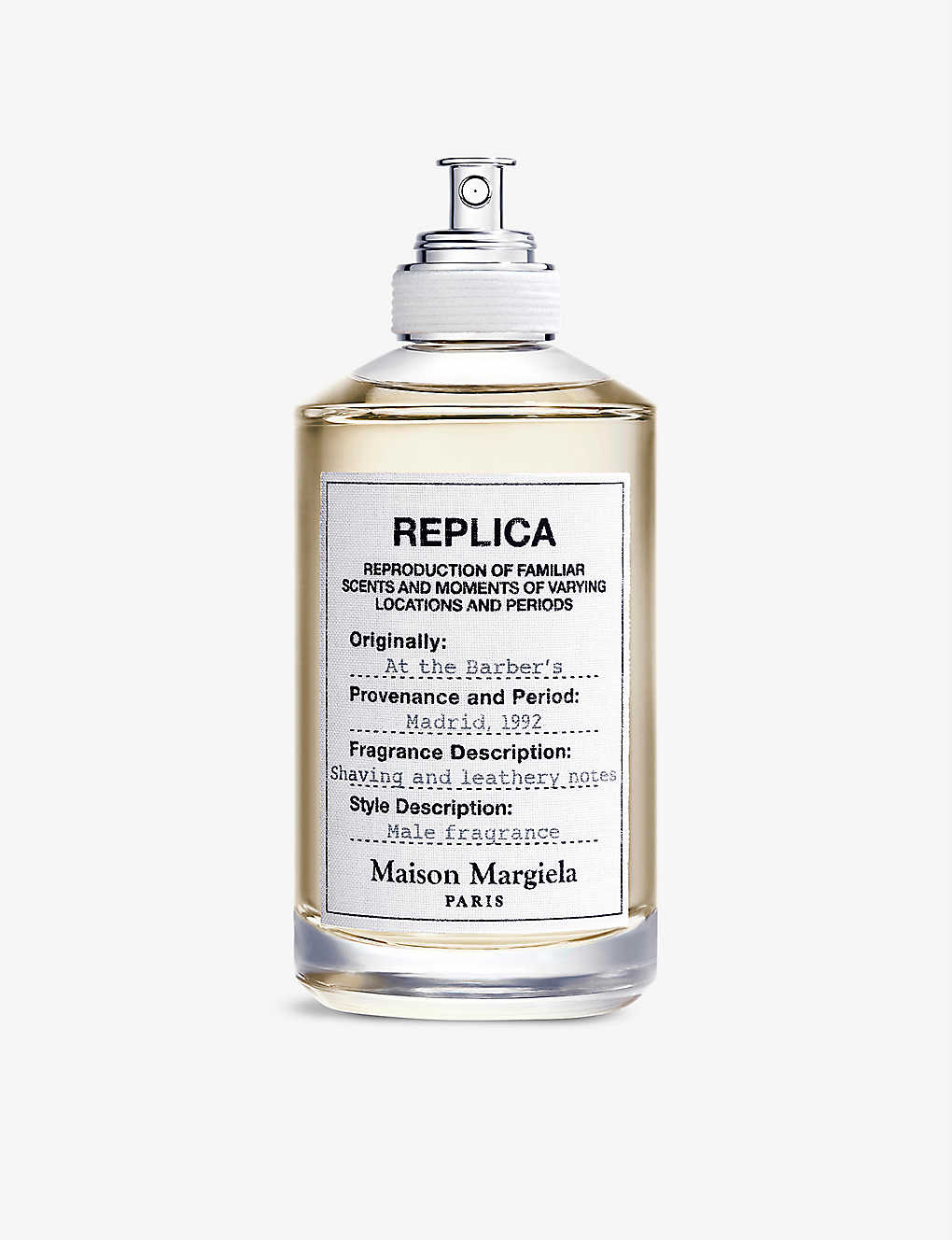 Replica At the Barber's eau de toilette 100ml