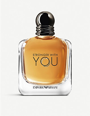 EMPORIO ARMANI: Stronger With You eau de toilette 150ml