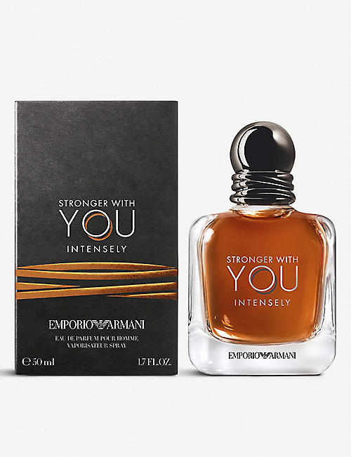 EMPORIO ARMANI: Stronger With You Intensely eau de parfum