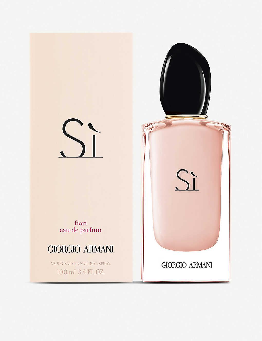 GIORGIO ARMANI: Si Fiori eau de parfum, 100ml