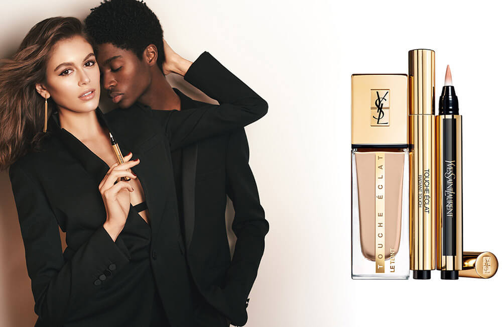 Offering the same radiant finish as the original, but with added skincare benefits, discover the new-and-improved YSL Touche Éclat Le Teint foundation.