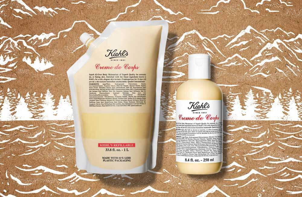NEW: KIEHL'S POUCH REFILLABLES