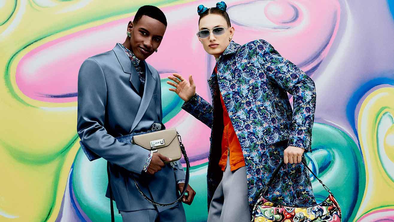 Dior x Kenny Scharf