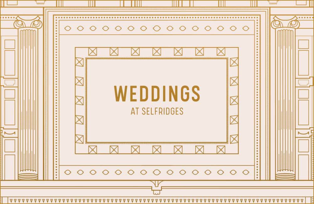 INTRODUCING: SELFRIDGES WEDDINGS