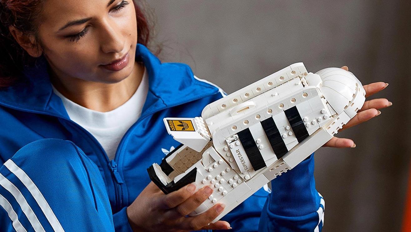 Just landed: LEGO x Adidas