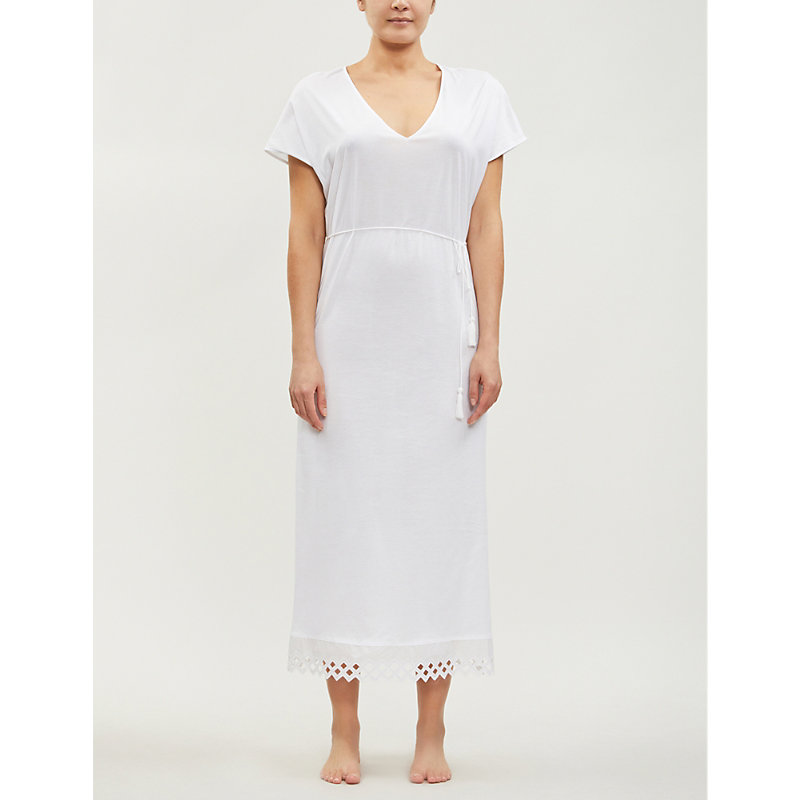 HANRO | Bella Cotton-Jersey Nightdress | Goxip