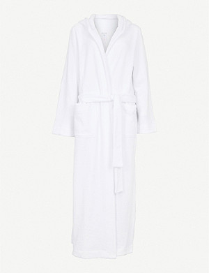 HANRO Hooded towelling dressing gown