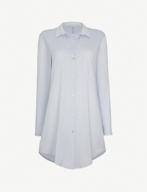 HANRO Deluxe cotton nightshirt