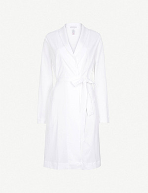 HANRO Classic cotton-jersey dressing gown