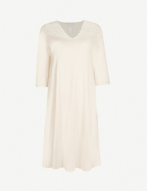 HANRO Moments cotton-jersey nightdress