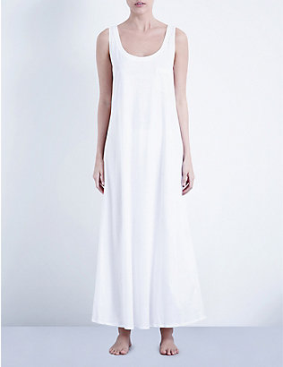 HANRO: Deluxe cotton-jersey night dress