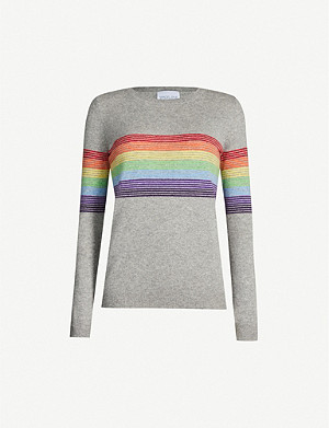 MADELEINE THOMPSON Humbert striped cashmere jumper