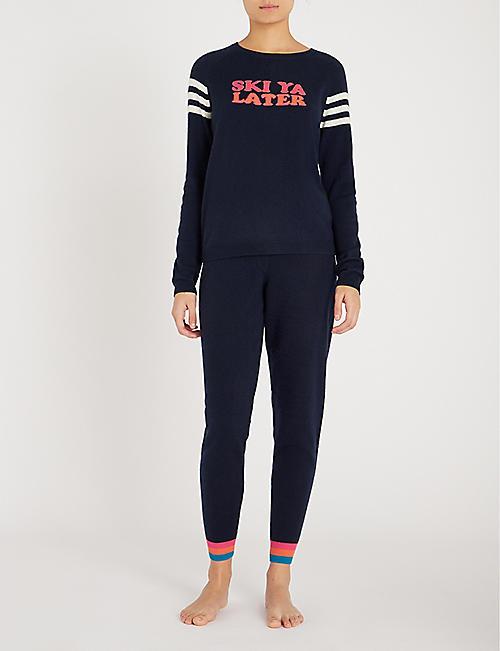 1de6d95afe08 CHINTI AND PARKER Ski Ya Later slogan-intarsia cashmere jumper