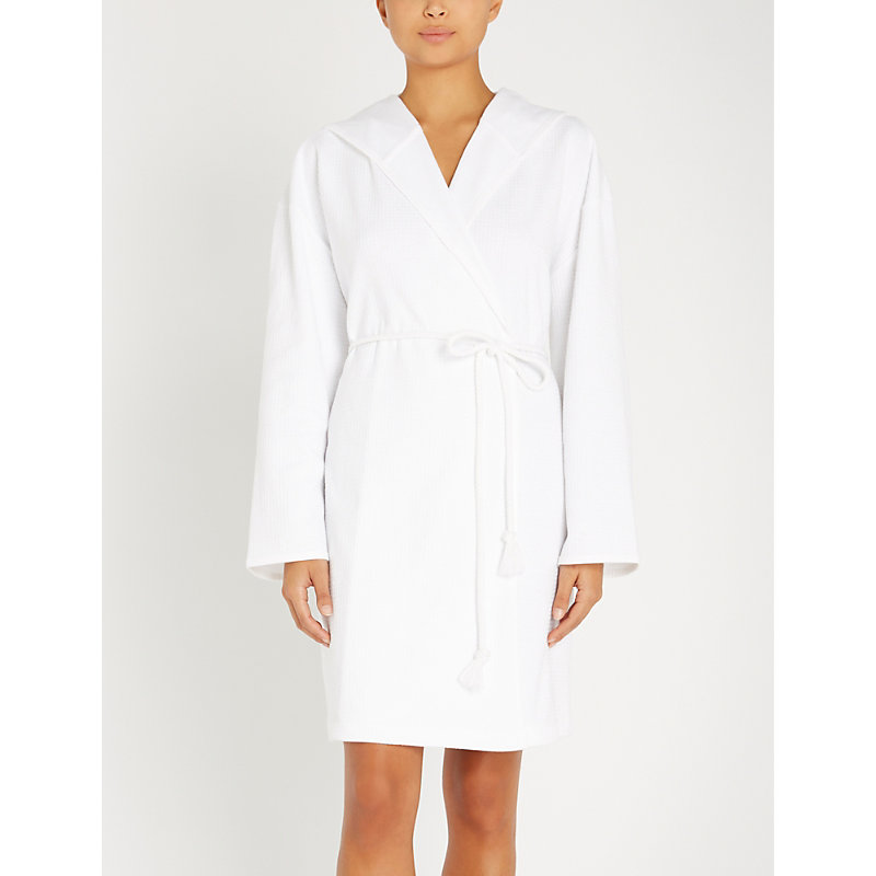 SKIN | Charlotte Cotton Dressing Gown | Goxip