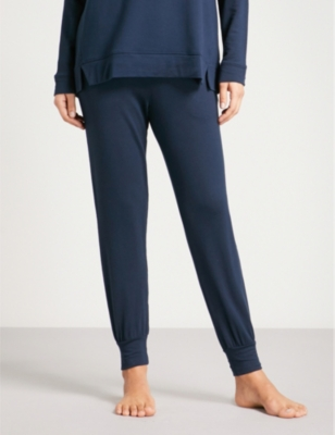 d8a6b2996ed SKIN - Freya relaxed-fit tapered stretch-jersey jogging bottoms ...