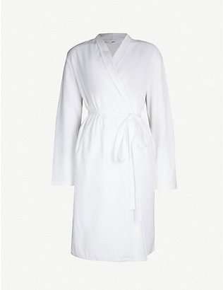 SKIN: Organic-cotton-towelling dressing gown