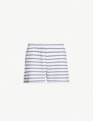 SKIN Ashlyn cotton-jersey shorts
