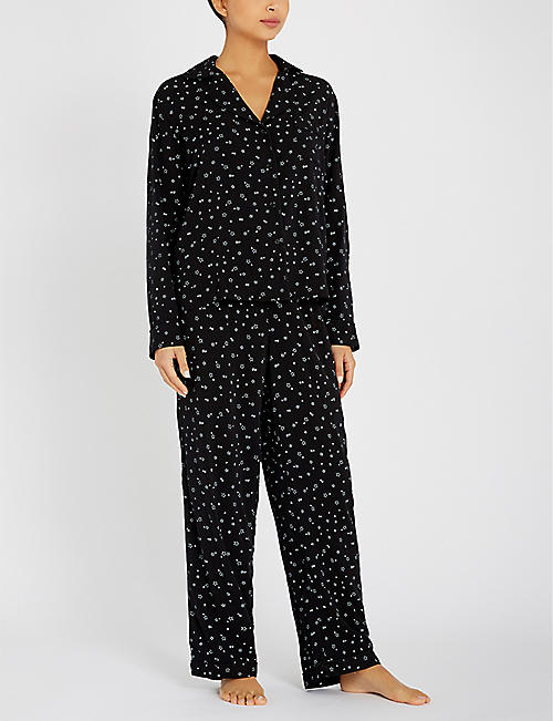 RAILS Star-print jersey pyjama set