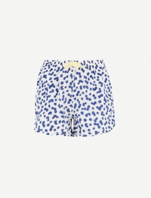 CHALMERS Lucy cotton pyjama shorts