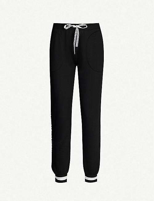 DKNY Downtown logo-embroidered stretch-jersey pyjama bottoms