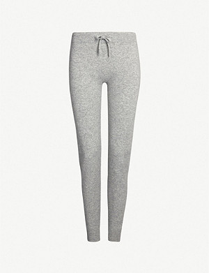 JOHNSTONS Tapered cashmere jogging bottoms