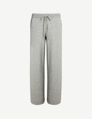JOHNSTONS Relaxed-fit cashmere culottes
