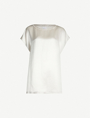 MAX MARA Oversized satin blouse