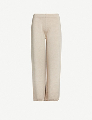 MAX MARA Wide-leg wool trousers