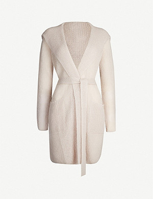 MAX MARA Fronda belted mohair-blend cardigan