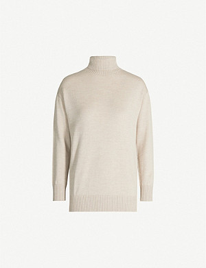 MAX MARA Certo turtleneck wool jumper