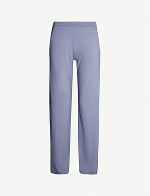 MAX MARA Lione stretch-jersey jogging bottoms