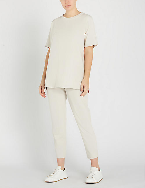 MAX MARA Egoista cotton-blend T-shirt