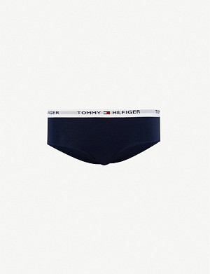 TOMMY HILFIGER Iconic stretch-cotton shorty briefs