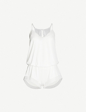 EBERJEY Phoebe stretch-modal playsuit