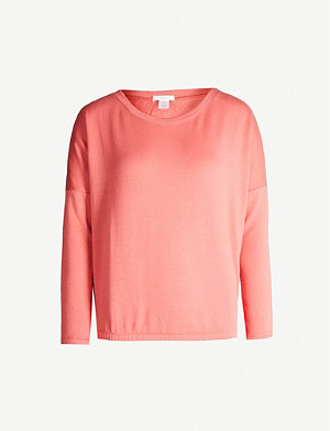 EBERJEY Winter Heather stretch-jersey pyjama top