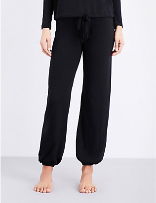 EBERJEY: Heather jersey pyjama bottoms