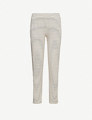 EBERJEY Vega stretch-jersey jogging bottoms