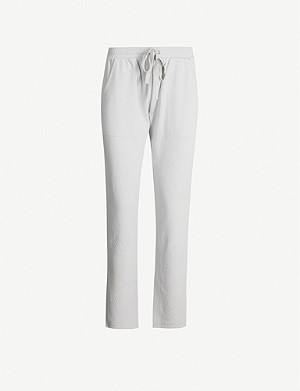 EBERJEY Olympic cotton-jersey pyjama bottoms