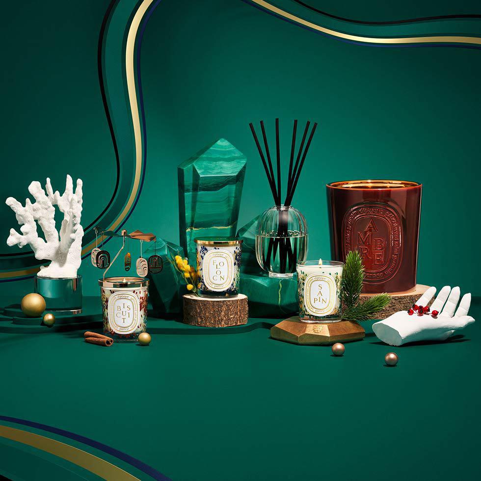 diptyque's cabinet of curiosities
