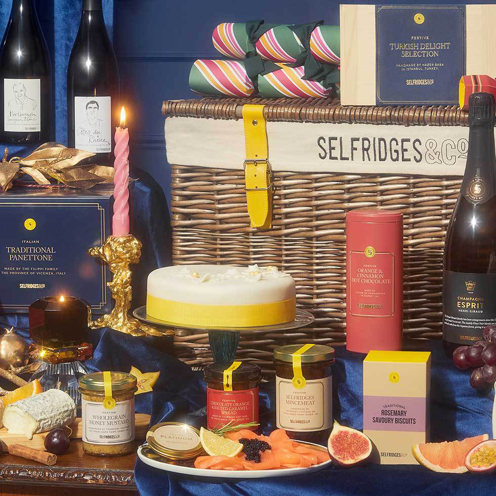 Dazzling (and delicious!) hampers