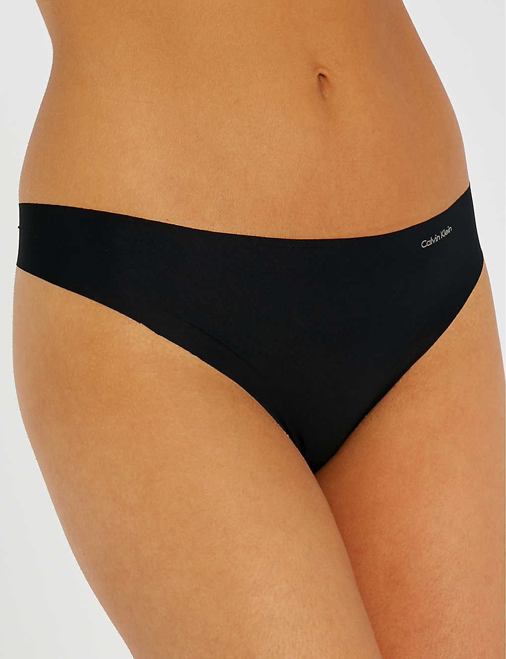 CALVIN KLEIN: Invisibles jersey thong