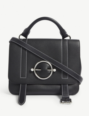 JW ANDERSON Disc leather satchel