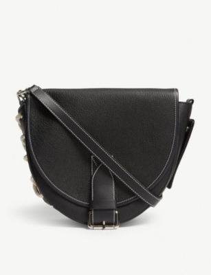 JW ANDERSON Bike lace small leather shoulder bag
