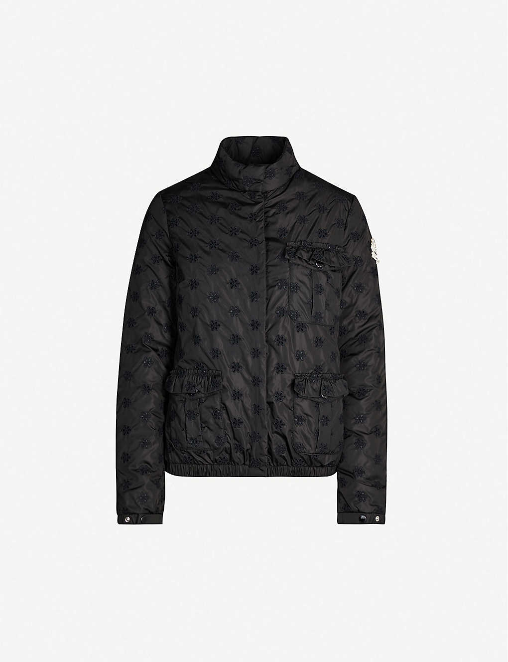 aeb0f366d Moncler Genius x Simone Rocha Hillary embroidered shell jacket