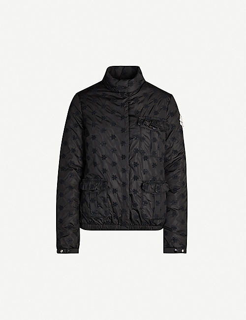 MONCLER GENIUS 4 Moncler Simone Rocha Hillary embroidered shell jacket