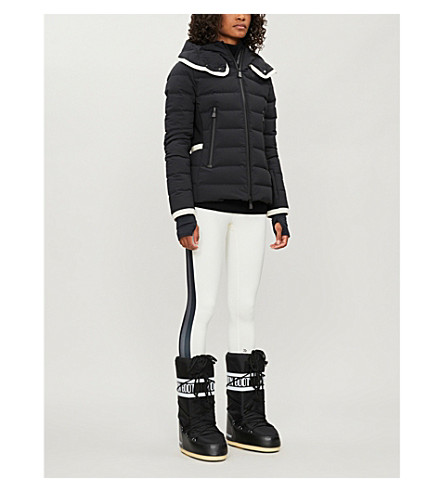 Moncler Linings GRENOBLE LAMOURA HOODED QUILTED-SHELL SKI JACKET