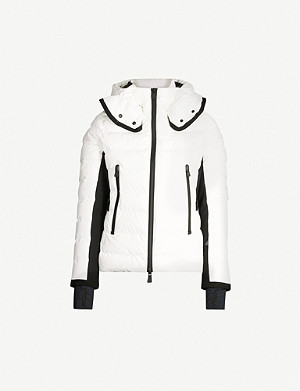 MONCLER Grenoble Lamoura hooded quilted-shell ski jacket