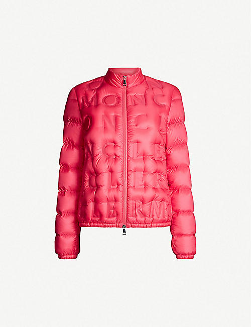 2a1641095391 MONCLER Vilnius logo-embossed shell-down jacket